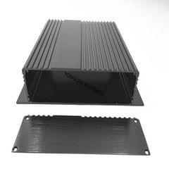 Aluminum Enclosure Case, Black Electronic Box Profile Housing PCB DIY Case