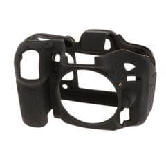 Silicone Protective Camera Body Case Cover for Nikon D7200/D7100  Black