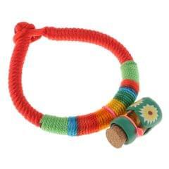 Rainbow Rope Bracelet for Kids Children Birthday Gifts Green