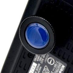 Metal Round Quick Release QR Plate for Manfrotto Compact Action Tripods Blue