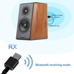 2in1 Mini USB Bluetooth 5.0 Adapter Desktop Audio Receiver / Transmitter