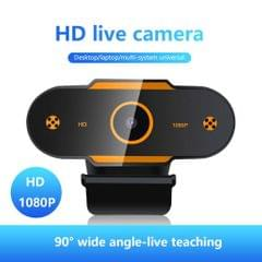 Auto Focusing HD Web Camera with Microphone for PC 1080P Fixed Focus
