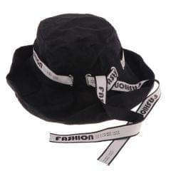 Mens Womens UV Protection Beach Sun Hat Adjustable Wide Brim Fishing Hat Black