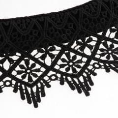 Womens Lace Fake Collar Detachable Half Shirt Blouse False Collar Black