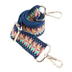 1.5in Wide Purse Strap Replacement Colorful Crossbody Bag Handbag Straps Gold Hook 1