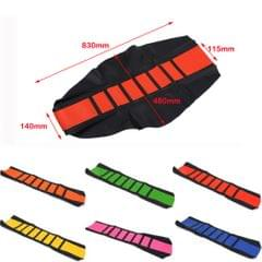 Universal Gripper Soft Motorcycle Anti-Slip Seat Cover for Dirt Bike Pink
