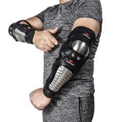 Black Motorcycle Elbow Protector Motocross Protective Gear Body Guard