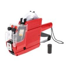 MX-6600 / 10 Digits 2 Lines Price Tag Gun Price Labeller Multi-Currency Red