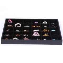 Velvet Bracelet Bangle Watch Jewelry Display Tray Black Velvet Leatherette