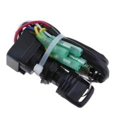 Boat Ignition Key Switch for Yamaha 40HP 60HP Outboard Motor
