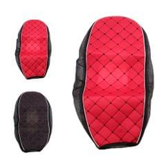 Red Motorcycle Electric Car Scooter Waterproof Seat Cushion Cover L