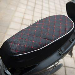 Black Motorcycle Electric Car Scooter Waterproof Seat Cushion Cover M