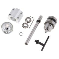 Table Saw Bench Drill Spindle Assembly DIY Woodworking B12 Drill Chuck