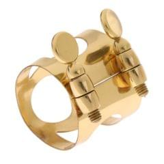 Metal Saxophone Eb Ligature Clip for Alto Saxophone Replacement Parts