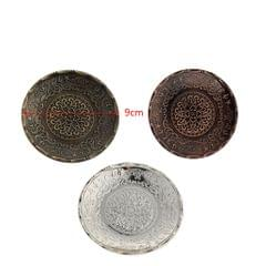 Round Tea Cup Saucer Kung Fu Tea Cup Coaster for Chinese Tea Ceremony Bronze