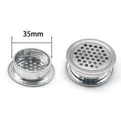 Stainless Steel Air Vent Louver 35mm Round Cabine Hole Air Vent Cover Louver