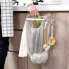 Hanging Rubbish Trash Garbage Bag Holder for Kitchen Cupboard Cabinet White