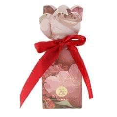 10 Pieces Candy Gift Box Wedding Favor Boxes with Ribbon Wine Ribbon Box