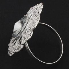 Exquisite Napkin Buckle Napkin Ring Wedding Party Napkin Holder Silver
