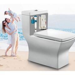 Complete Toilet Tank Tank Repair Kits Toilet Fill Valve Flush Valve Flapper as described