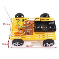 DIY Wireless Remote Control Racing Model Electric Motor Circuit Science Kit