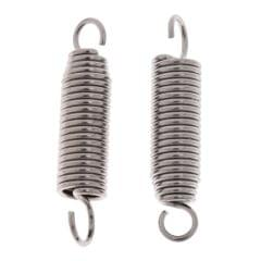 2 Pieces Drum Pedal Beater Mallet Springs Stainless Steel