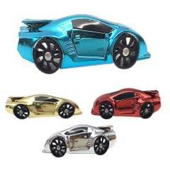 Car Shape Auto Air Conditioner Vent Clip Universal Vent Perfume Silver