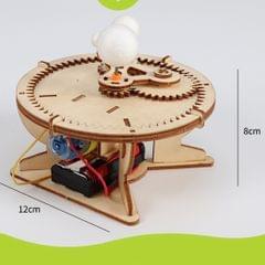 Kids DIY Model Kit Sun Earth Moon Orbital Educational Scale Science Project