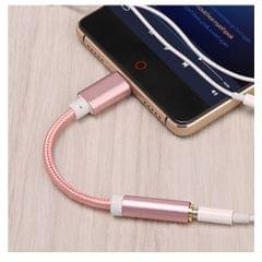 USB-C Type C to 3.5 mm Headphone Jack Adapter Earphone Audio Cable Rose Gold