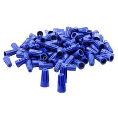 100 Pieces Electrical Wire Connector Twist-On Easy Screw On Type Caps Blue