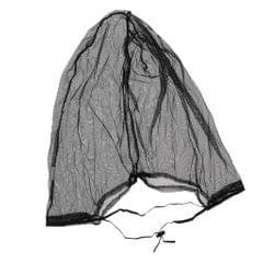 Anti Prevent Mosquito Bee Bug Insect Head Net Mesh Mask Hat Face Cover Black
