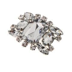 Rhinestone Crystal Shoe Buckle Shoe Clip for Bridal Wedding Shoe Decoration