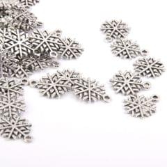 50pcs Silver Jewelry Making Charms Findings Necklace Bracelet DIY Supplier