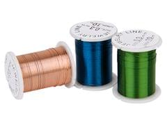 10 Rolls Mixed Color Copper Wire Beading Thread String Cord 0.3mm DIY Jewellery Making