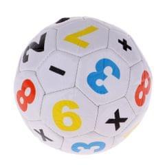 Mini Official Size 2 Kids Football Soccer Ball for Unisex Boys Girls White