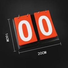 2-Digital Portable Table Top Scoreboard Flipper for Basketball Football Red