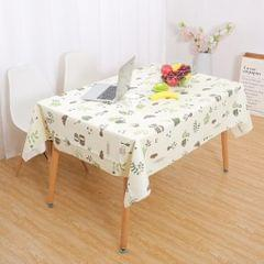 PVC Tablecloth Large Rectangle Dinner Table Cove Protector Teatime