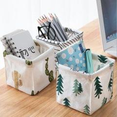 Foldable Desktop Organizer Cabinet Toys Snacks Storage Container Basket B