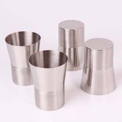 Stainless Steel Cups Pint Cup Coffee Beer Mug Kids Drinking Tumbler 240ml