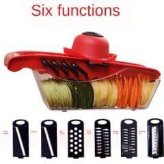 Multi-function Vegetable Cutter Shredder Grater Slicer