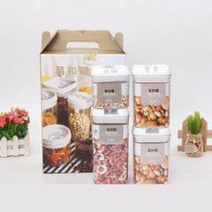 Multi-Functional Plastic Kitchen Storage Tank Transparent