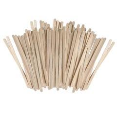 Tea Coffee Wooden Stirrers Disposable Beverage Stir Sticks x 500 140x6x1.5mm