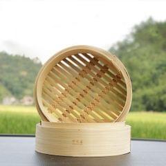 Kitchen Bamboo Steamer Basket Asian Food Dumpling Steamer 6.5inch Lid