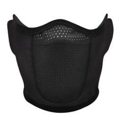 Winter Cycling Motorcycle Half Face Balaclava Earflap Dust for Outdoor Sport