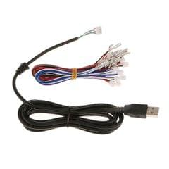 Zero Delay USB Encoder Board PC Controller Joystick DIY Kits for Arcade Game Red