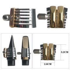 1 Pc Zinc Alloy Sax Ligature for Saxophone Mouthpiece Sax Parts Tenor