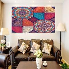Frameless Modern Oil Painting Wall Art Decal Sticker Panel 60x60cm Floral
