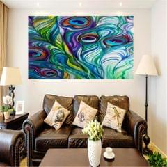 Frameless Modern Oil Painting Wall Decal Sticker Panel 60x90cm Oil Painting