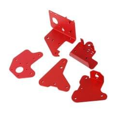 5pcs/set 3D Extruder Back/Front-Plate Passive Block Plate Kit For CR-10S PRO