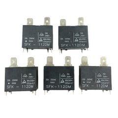 5pcs SFK-112DM 20A 250VAC DIP-4 4 Pins Relay Brand New Parts Accessories